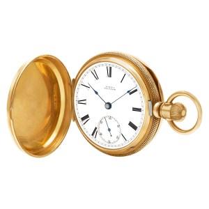 Waltham N/A 1877 14k White dial 53mm Manual watch