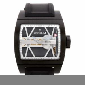 Corum Ti Bridge 050056 Stainless Steel Skeleton dial 43mm Manual watch