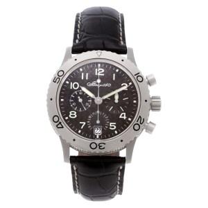 Breguet Transatlantique 3820TI Titanium Black dial 39mm Automatic watch