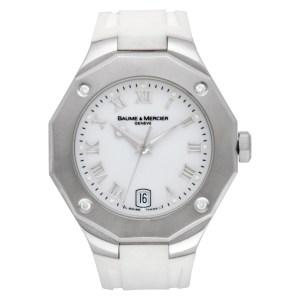 Baume & Mercier Riviera 65575 stainless steel 38mm Quartz watch