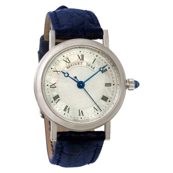 Breguet Classique 8069 18k white gold 30mm auto watch
