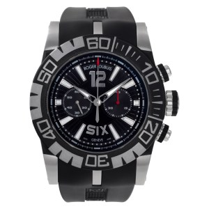 Roger Dubuis Easy Diver Chronograph RDDBSE0253 Steel Black dial 46mm