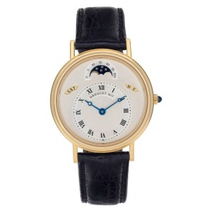 Breguet Quantième 3337ba/1e/986 18k Cream dial 36mm Automatic watch