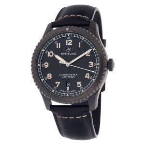 Breitling Navitimer M17314101B1X1    Black Steel Black dial mm Automatic watch