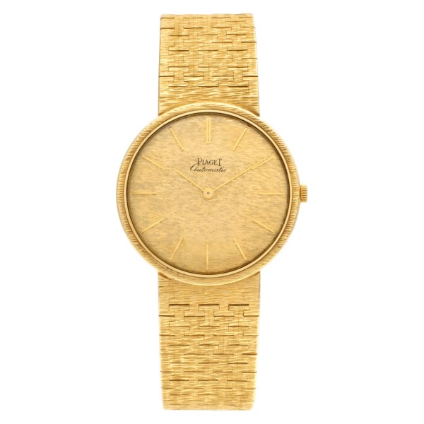 Piaget Automatic 149 18k Gold dial 32mm Automatic watch