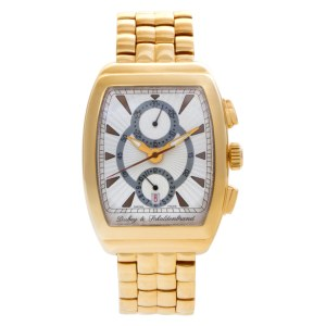 Dubey & Schaldenbrand Gran Astro 18k Silver dial 37mm Automatic watch