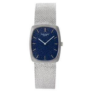 Patek Philippe Ellipse 3567/1 18k White Gold Blue dial 26mm Manual watch