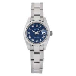 Rolex Datejust 179160 Stainless Steel Navy dial 26mm Automatic watch