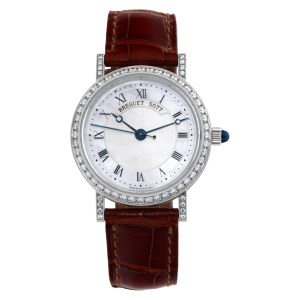 Breguet Classique 8068BB/52/964/DD00 18k white gold 30mm auto watch
