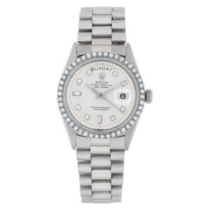 Rolex Day-Date 1803 18k white gold 36mm auto watch