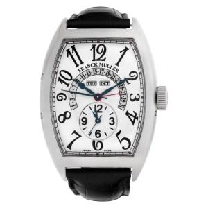 Franck Muller Master Calendar 9880 mc mb 18k white gold 43mm auto watch