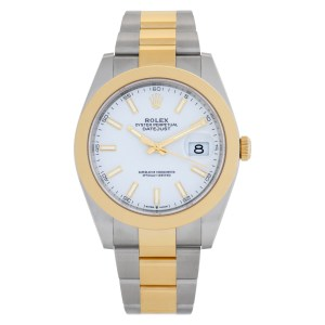 Rolex Datejust 41 126303 Stainless Steel White dial 41mm Automatic watch