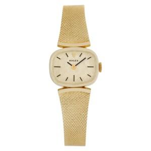 Rolex Classic 8232 14k Gold dial 21mm Manual watch