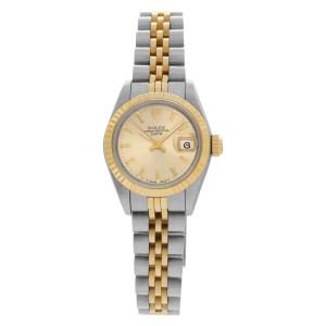 Rolex Datejust 16013 18k & steel 26mm auto watch