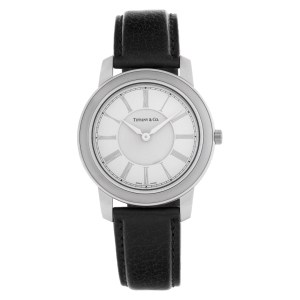 Tiffany & Co. Resonator 21878987 Stainless Steel Silver dial 37mm Quartz watch
