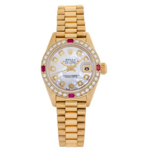Rolex Datejust 69178 18k Mother of Pearl dial 26mm Automatic watch