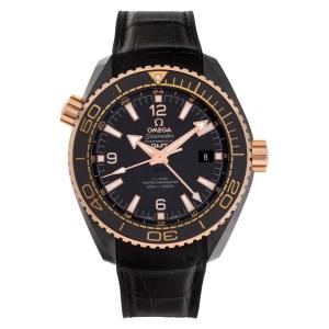 Omega Seamaster Planet Ocean 215.63.46.22.01 Ceramic Black dial 45.5mm Automatic