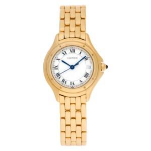 Cartier Cougar 18k 26mm Quartz watch