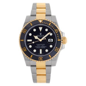Rolex Submariner 116613 18k & Stainless Steel Black dial 40mm Automatic watch