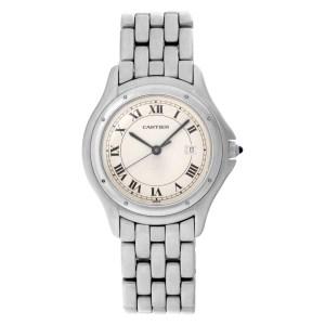 Cartier Cougar W35002F5 stainless steel 33mm Quartz watch