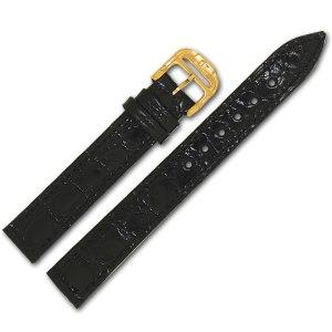 Baume & Mercier black alligator strap (13x12)