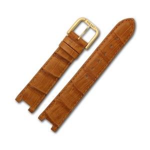 Tissot brown leather strap (18x16)