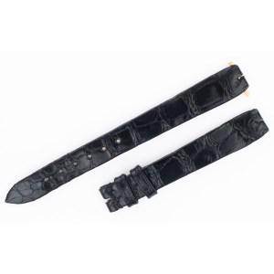 David Yurman black alligator strap (11x10)