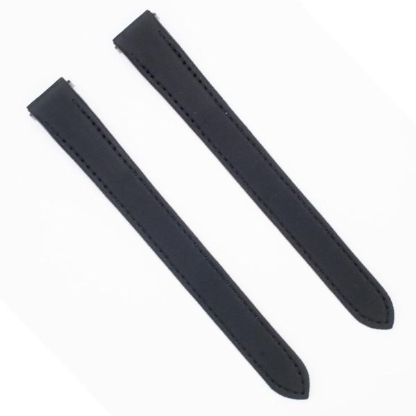 Cartier black satin strap for ladies Roadster (15 x 14)