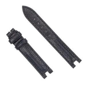 Baume & Mercier black lizard strap (14mm x 12mm)