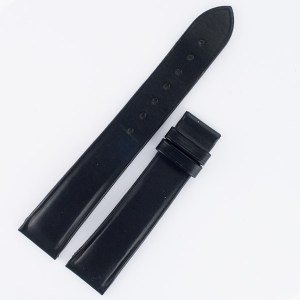 Philippe Charriol black leather strap 18x16