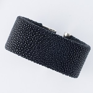 de GRISOGONO black string ray strap for LIPSTICK model, 28mm
