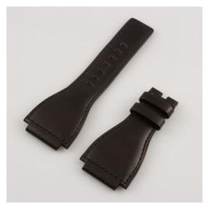 Bell & Ross black calf skin strap 24mm  x 20mm.