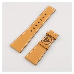 Bell & Ross Camel/Tan calfskin Strap with contrast ctitch (24 x 18)