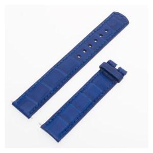 Bvlgari blue alligator strap (16 x 15.5)