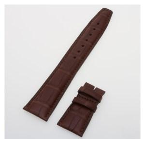 IWC matte brown alligator strap (22x18) IWA29444