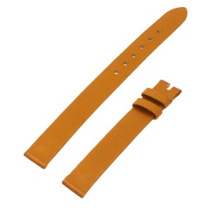 Piaget mustard color silk strap (10mm x 10mm)