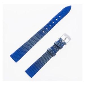 Van Cleef & Arpels 2-tone blue and aqua green lizard strap (12x10)