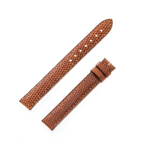 Cartier tan lizard strap (12mmx12mm) (light brown)