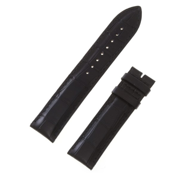 Jaeger LeCoultre black alligator strap (21x20)
