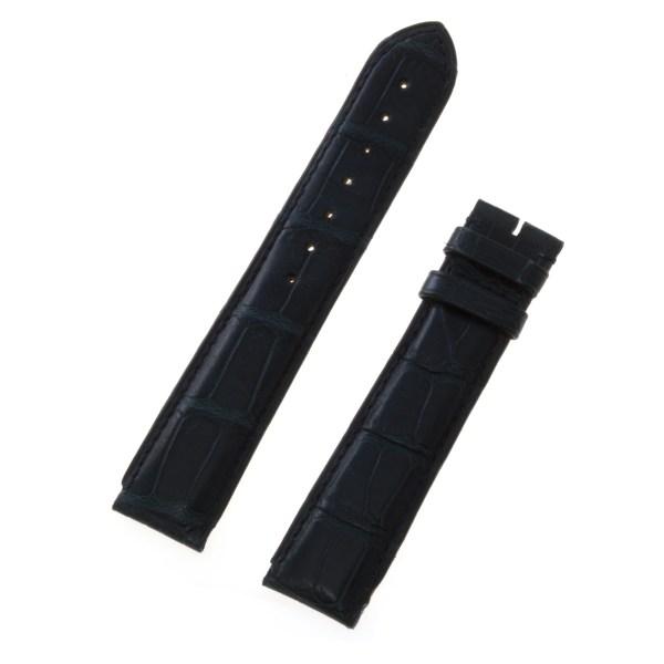 Cartier midnight blue alligator strap (18x18)