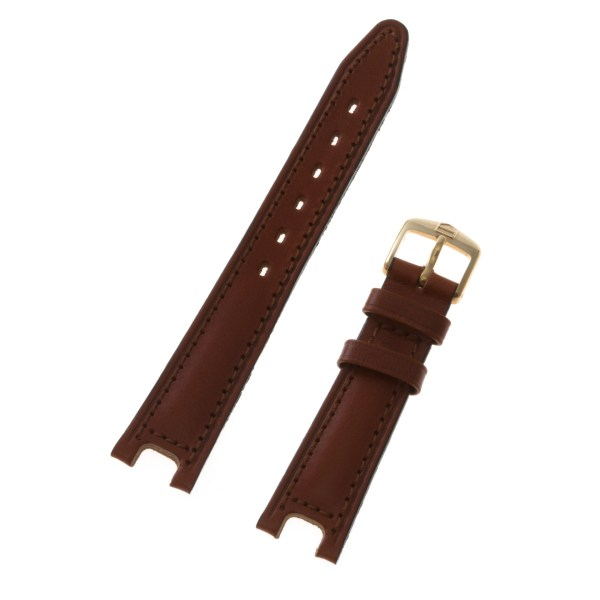 Tag Heuer brown leather strap with original tang buckle  17 x 13