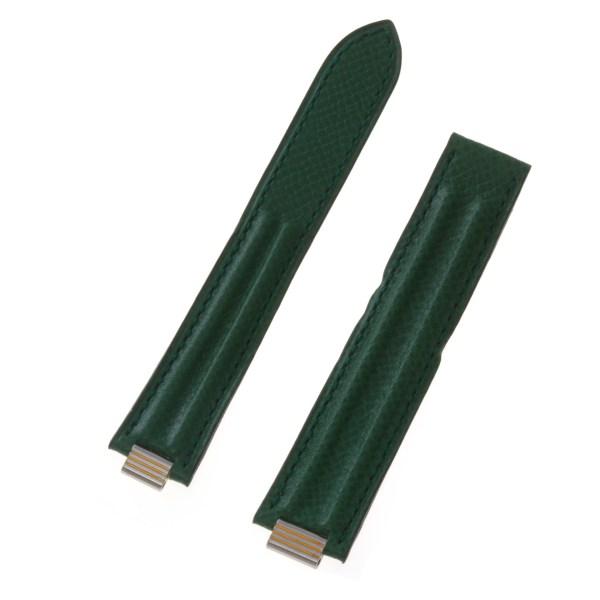 Cartier green lizard strap (18x16)