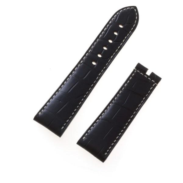 Breguet black alligator strap (23x20)
