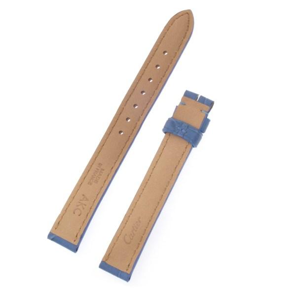 Cartier light blue alligator strap (13x12)