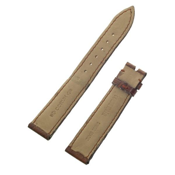 Corum brown alligator strap (18mm x 16mm)