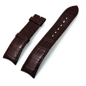 Harry Winston brown alligator strap (21x18)