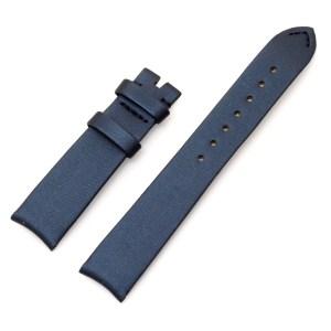 Vacheron constantin navy blue satin watch strap (16mm x 14mm)