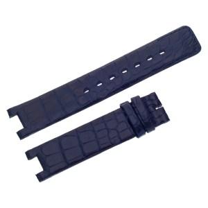 Jaeger LeCoultre Crocodile Midnight Blue Strap (17x16)