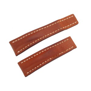 Breitling calf light brown strap (24 x 20)