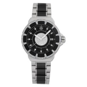 Tag Heuer Formula 1 WAH1219 Stainless Steel Black dial 37mm Quartz watch